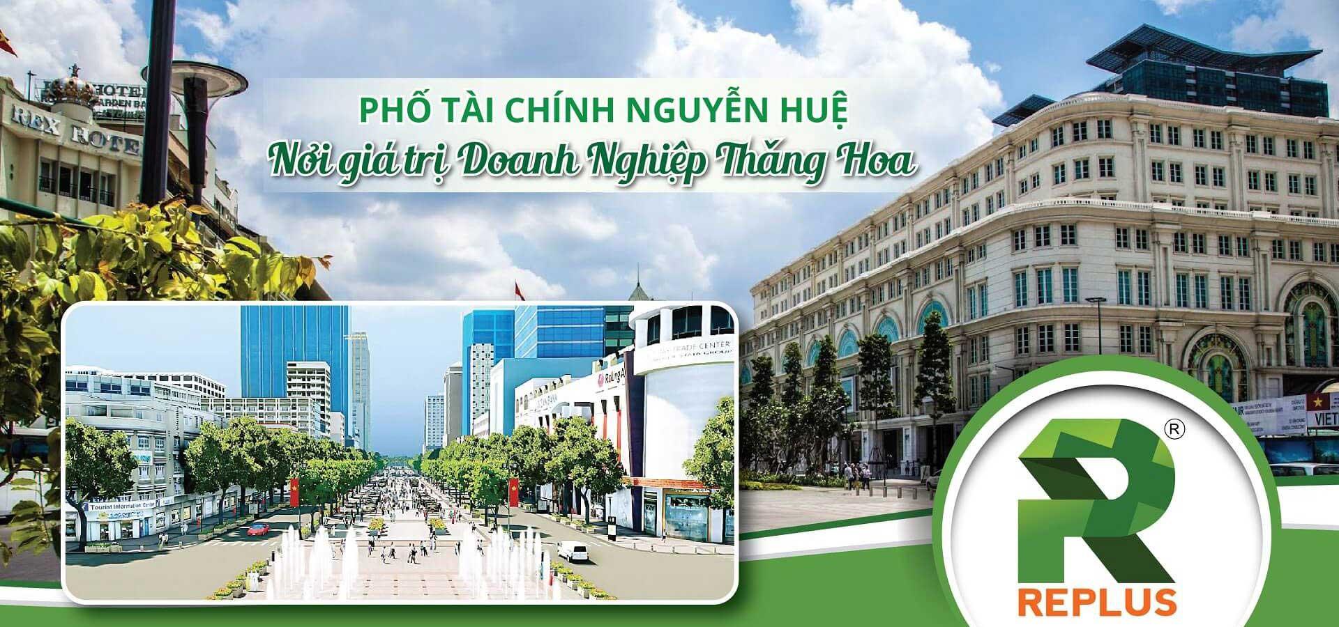 Văn phòng Replus 68 Nguyễn Huệ