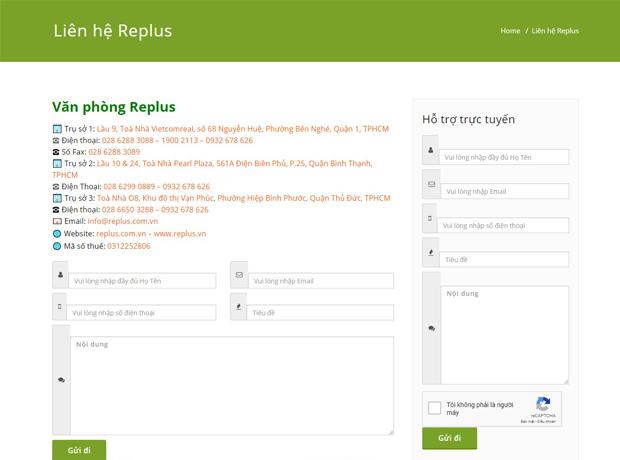 Đặt mua văn phòng chia sẻ ảo trọn gói Replus chỉ với 1 thao tác duy nhất 1