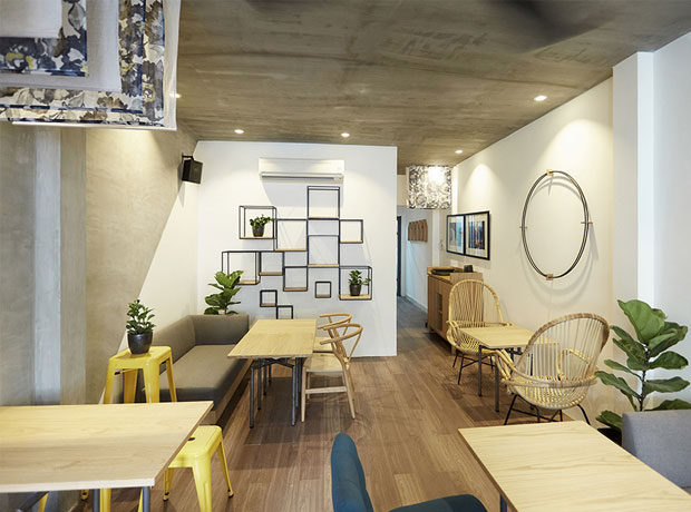 cafe văn phòng TP HCM độc đáo