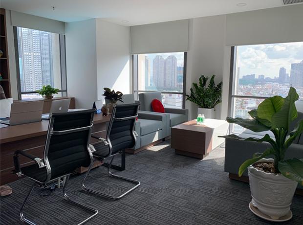 Cách bố trí đối với văn phòng có diện tích nhỏ