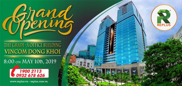 Chi nhánh văn phòng Replus - Vincom Center Đồng Khởi Quận 1 1