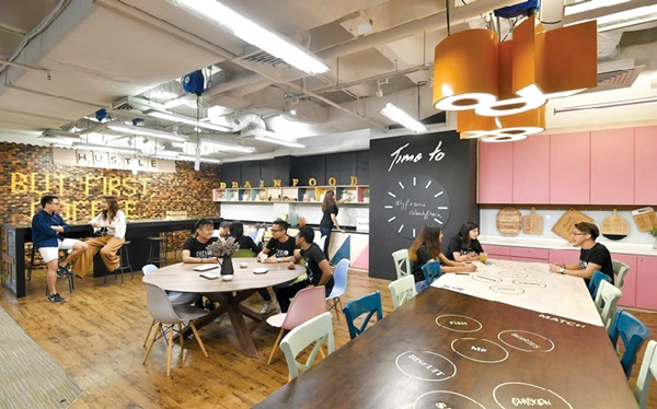 co-working space sang trọng