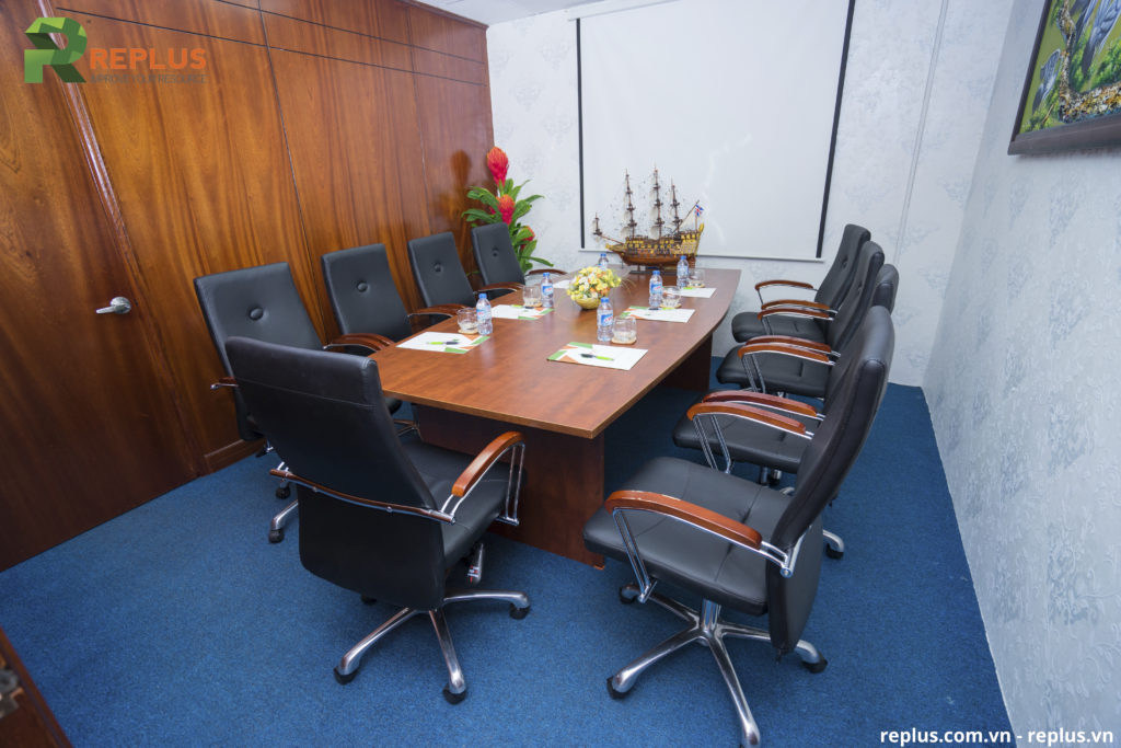 Phòng họp trực tuyến sang trọng ở Replus
