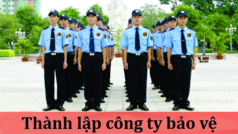 thanh lap cong ty bao ve