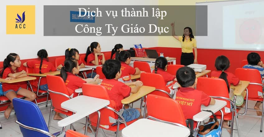 thanh lap cong ty giao duc