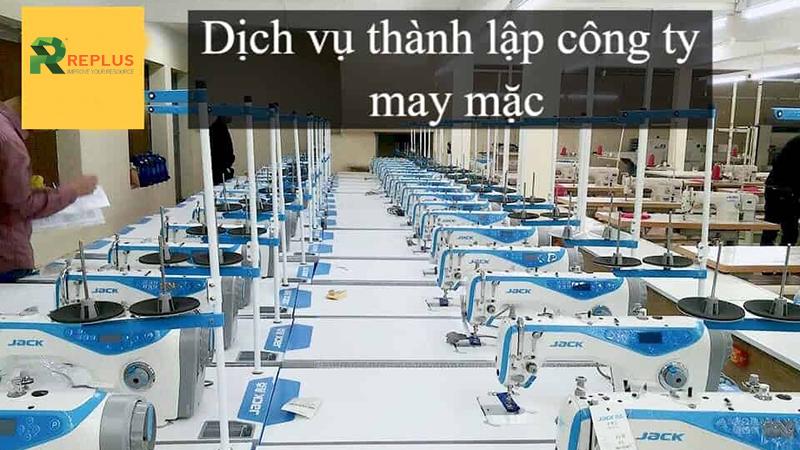 thanh lap cong ty may mac