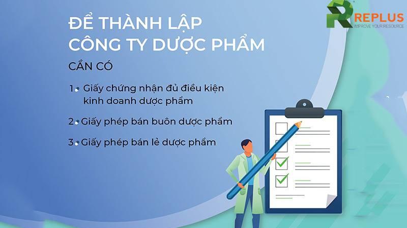 thanh lap cong ty duoc pham