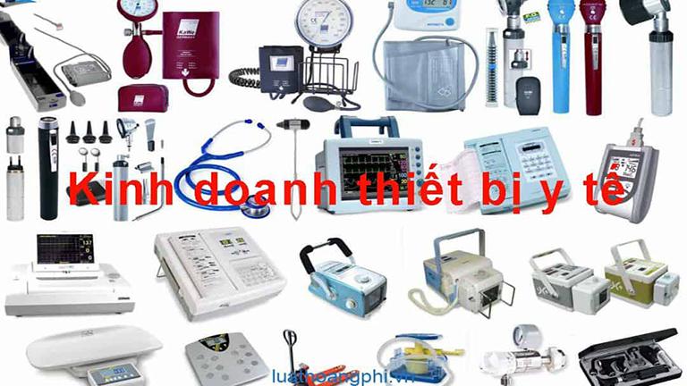 thành lập công ty thiết bị y tế