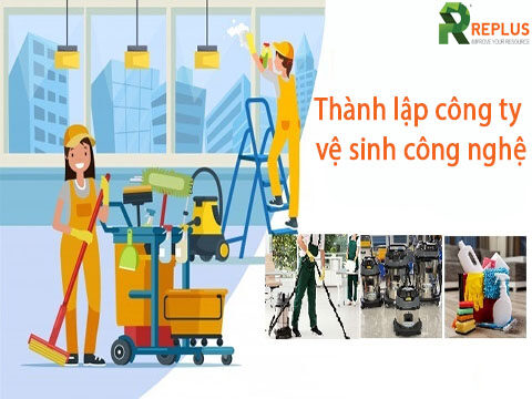 thanh lap cong ty ve sinh cong nghiep