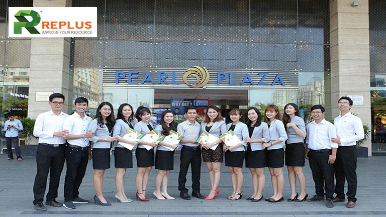 Trung tam thuong mai Pearl Plaza co ban gi