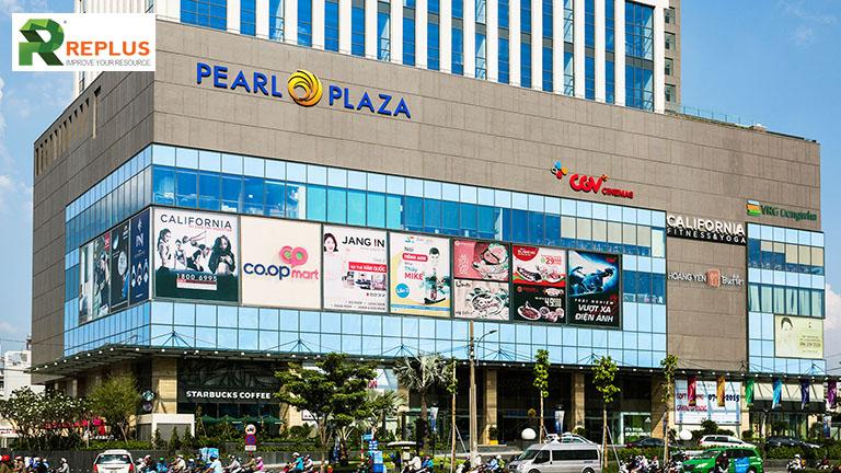 ngan hang gan Pearl Plaza Binh Thanh