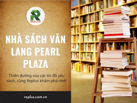 nha sach van lang Pearl Plaza Binh Thanh